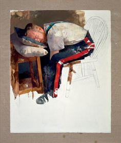 "<span class=""artist""><strong>Diarmuid Kelley</strong></span>, <span class=""title""><em>Courbet, Saviour of the World</em>, 2017</span>"