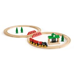 BRIO - Wooden Classic Travel Figure 8 Set