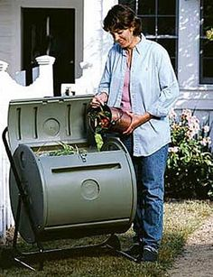 Another item on the wish list.  Compost tumbler