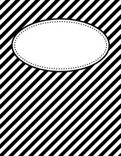 Free printable black and white diagonal stripe binder cover template. Download the cover in JPG or PDF format at http://bindercovers.net/download/black-and-white-diagonal-stripe-binder-cover/