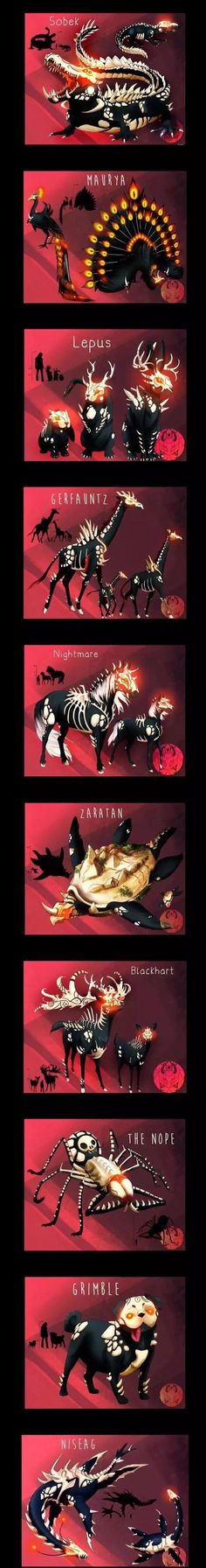 These are some cool ideas for the Grimm. I like the pug one the best
