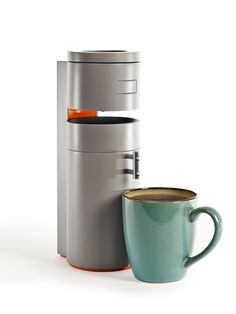 Bruvelo was designed with every step of the coffee brewing process in mind... grinding, ratios, temperatures, bloom, steep, filtration - all balanced together. And it does all this in an incredibly small space. And with the mobile app, set it brew your favorite coffee when your alarm goes off.