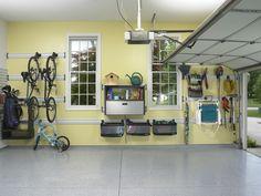 garage organization for families