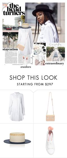 """Turning Heads"" by trudith ❤ liked on Polyvore featuring Dorothee Schumacher, Sophie Hulme, Eugenia Kim and Minna Parikka"