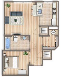 Floor Plans :: Apartments in Washington, DC :: Sheridan Station