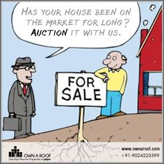 Has your house been on the market for long? Auction it with us.