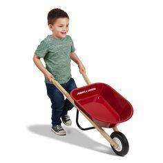 Free 2-day shipping. Buy Radio Flyer, Kid's Wheelbarrow, Steel Body, Red at Walmart.com Toys For Tots, Radio Flyer, 4 Year Olds, Homeschool Curriculum, Wheelbarrow, Gardening For Beginners, Wooden Handles, Little Ones, Activities
