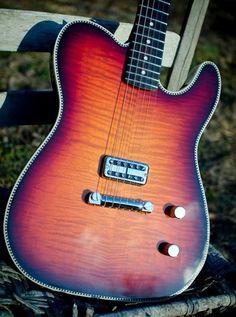 Telecaster Guitar, Beautiful Guitars, Guitar Design, Classical Guitar, Cool Guitar, Playing Guitar, Acoustic Guitar, Instruments, Wraparound