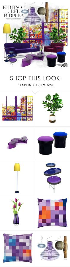 """""""in living colors..."""" by ian-giw ❤ liked on Polyvore featuring interior, interiors, interior design, home, home decor, interior decorating, B-Line, LSA International, Zuzunaga and Foscarini"""