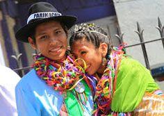 Jovenes aymara de Chile