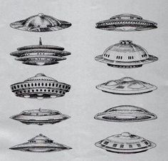 Ufos (I love these old-school flying Frisbees)