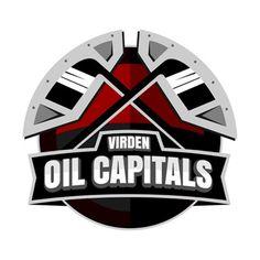 1956, Virden Oil Capitals (Virden, Manitoba) Tundra Oil & Gas Place #VirdenOilCapitals #Virden #MJHL (L8491)