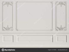Corporate Interior Design, Corporate Interiors, Small Bedroom Interior, Interior Walls, Gypsum Design, Wall Panel Design, French Walls, Cheap Wall Decor, Wall Molding