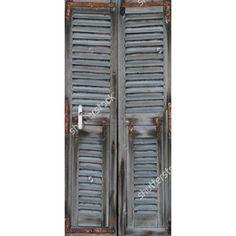 Deursticker Louvre IV | Een deursticker is precies wat zo'n saaie deur nodig heeft! YouPri biedt deurstickers zowel mat als glanzend aan en ze zijn allemaal weerbestendig! Verkrijgbaar in verschillende afmetingen.   #deurstickers #deursticker #sticker #stickers #interieur #interieurprint #interieurdesign #foto #afbeelding #design #diy #weerbestendig #vervallen #urban #louvre #hout #houten #grijs