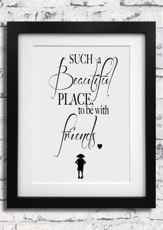 Harry Potter Dobby Quote Print Poster  to be with