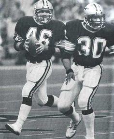 Hokie Gajan and Wayne Wilson 1980s NO Saints 2dd72c87b