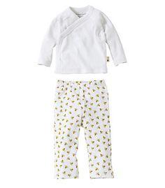 e317ae42fe Bee Essentials Kimono Top and Footless Pant Set. Cotton KimonoKimono TopOrganic  BabyOrganic ...