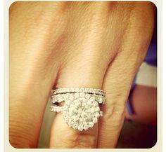 Round brilliant diamond | I Do Now I Don't Our Wedding, Dream Wedding, Wedding Rings, Design Your Own Ring, Wedding Proposals, Round Diamond Engagement Rings, Diamond Settings, Brilliant Diamond, Round Diamonds
