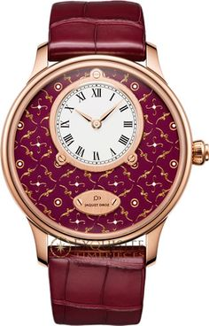 Buy this Jaquet Droz Petite Heure Minute Paillonnee J005033249 and more Jaquet Droz watches at Exquisite Timepieces, we are Authorized Dealers