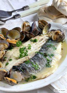 Pescado4 A Food, Good Food, Food And Drink, Chicken Salad Recipes, Seafood Recipes, Irish Recipes, Italian Recipes, Spanish Kitchen, Romanian Food