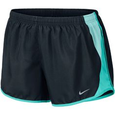 Nike 10K Shorts ($30) ❤ liked on Polyvore featuring activewear, activewear shorts, shorts, bottoms, nike, pajamas, nike activewear and nike sportswear