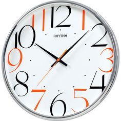 WALL CLOCK SILENT SILKY MOVE RHYTHM