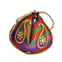 Multicolored Bangle Inspired Evening Clutch Purse for Her by KADA.