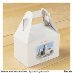 Belarus Mir Castle Architecture Мирский Замок Favor Box Wedding Lunch, Wedding Candy, Wedding Favor Boxes, Party In A Box, Birthday Favors, Party Items, Bridal Shower Favors, Romantic Gifts, Minimalist Wedding