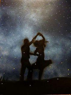 E esse dia chegará...E nós dansaremos sob a luz das estrelas