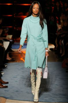 Miu Miu Spring 2014 Ready-to-Wear Collection Slideshow on Style.com  The Color!