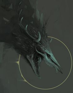 Dark Creatures, Mythical Creatures Art, Mythological Creatures, Monster Concept Art, Fantasy Monster, Monster Art, Creature Concept Art, Creature Design, The Ancient Magus Bride
