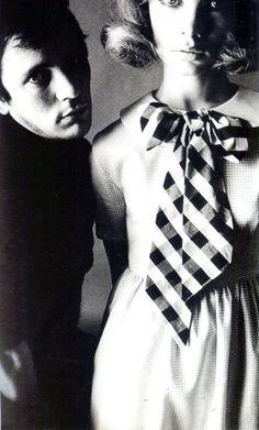 Terence Stamp; Jean Shrimpton