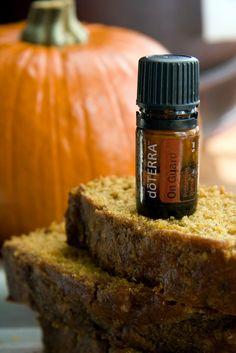 Barefoot doTERRA: Treats! OnGuard Pumpkin Bread