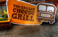 the grilled chees grill, food cart: Portland
