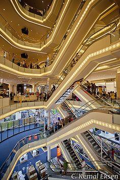 Demiroren shopping mall / AVM  Taksim, Istanbul http://kemaleksen.com C. Kemal Eksen – EKSEN reklam | photography | video | animation / ISTANBUL