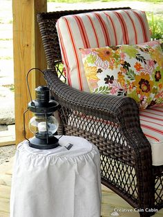 Kmart wicker furniture-who says it has to be expensive to look good for my patio?