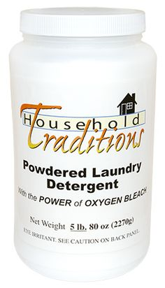 50% OFF Non-toxic Laundry Detergent! An Environmentally Safe, Nontoxic Detergent