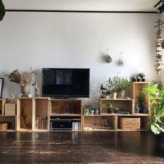 「りんご箱 テレビ台」の画像検索結果