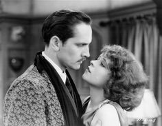 Face/Off ☆ Clara Bow ☆ Fredric March ☆ The Wild Party (1929) ☆