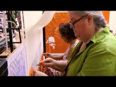 Weaving a tapestry - Create Explore Learn - YouTube