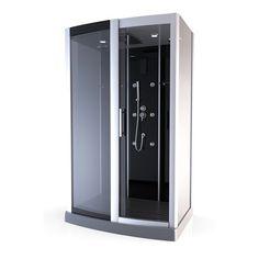 cabine de douche black kubik magasin de bricolage brico d p t de toulon meubles pinterest. Black Bedroom Furniture Sets. Home Design Ideas