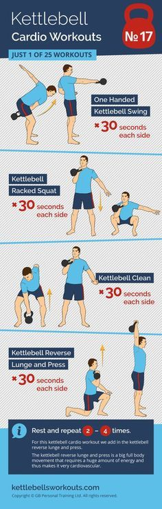 Kettlebell Cardio Workout No. 17 of 25. A full body kettlebell circuit. An excellent kettlebell workout for the total body so great for fat loss. A kettlebell complex workout that will raise your heart rate quickly in very little time. #kettlebell #kettlebellworkout #fitness #exercise