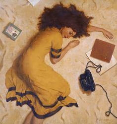 """""""I can tell when the telephone rings it's gonna be you just to talk about things. It's funny how it seems to happen when you're on my mind."""" Christopher Cross - (Dmitry Lisichenko)"""