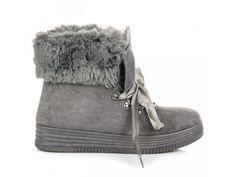 Sivé topánky Etela