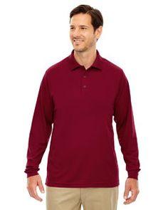 L Clas... Armour Mens Tall Performance Snag Protection Long Sleeve Polo Shirt