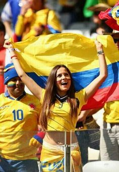 Colombia ♥ #WorldCup2014