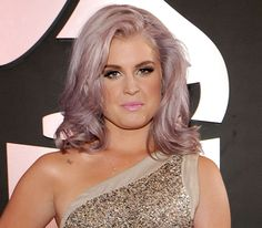 Love the lavender hair and makeup is flawless!