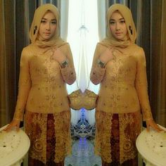 Kebaya and hijab