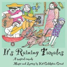 Kit Goldstein Grant - Its Raining Tamales!, Grey