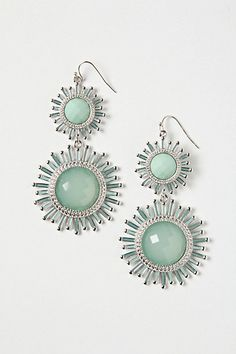 aquarmarine pinwheel drops- anthropologie.com